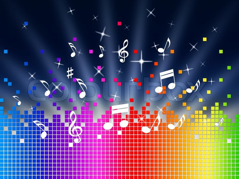 Rainbow Music Notes Background Hd Wallpaper Background Images: ShoutOut Radio